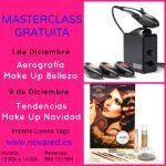 Masterclass Maquillaje Profesional > Aerografía Belleza y Tendencias Navidad 2014