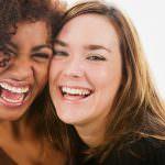 ¿Lo mejor para estar bella? ¡Reír!